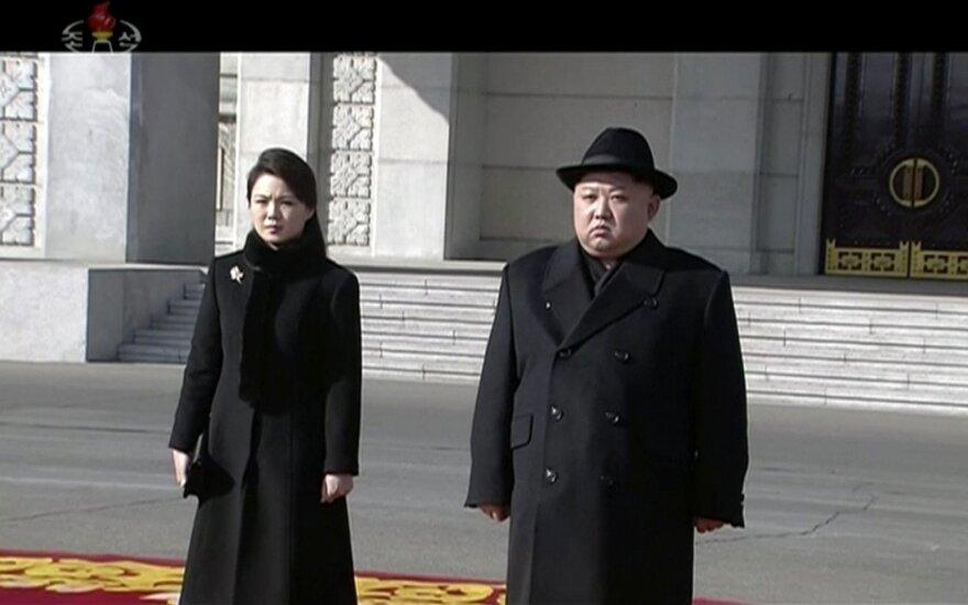 Šiaurės Korėja vis dar nori kalbėtis su JAV