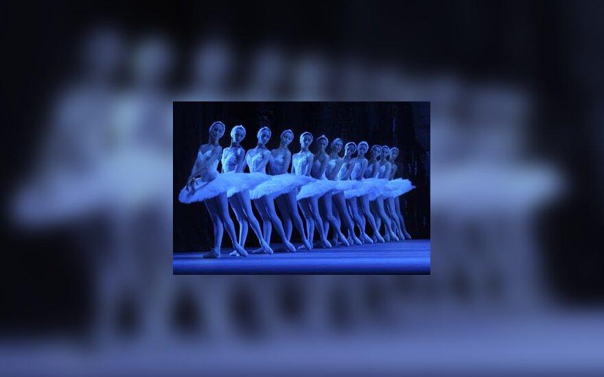 baletas, balerina, elegancija, šokti, kojos