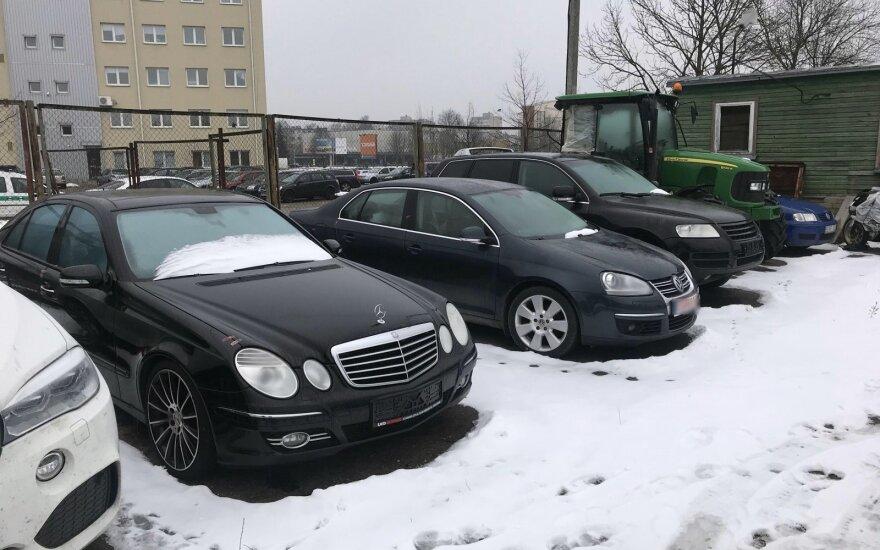 Kauno apskrities policijos automobilių saugojimo aikštelė