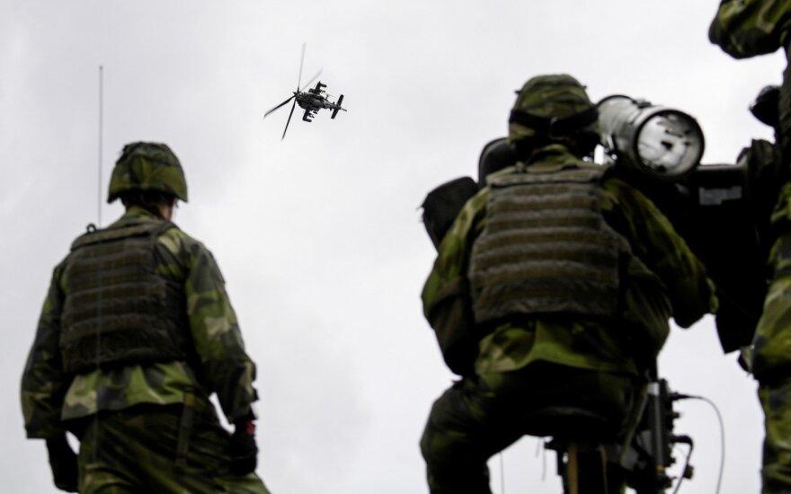 Dėl Rusijos grėsmės ginkluojasi net viena taikiausių pasaulio šalių