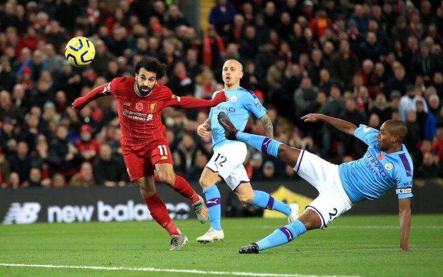 """""""Liverpool"""" pamokė Anglijos čempionus ir nustūmė juos į ketvirtą vietą"""
