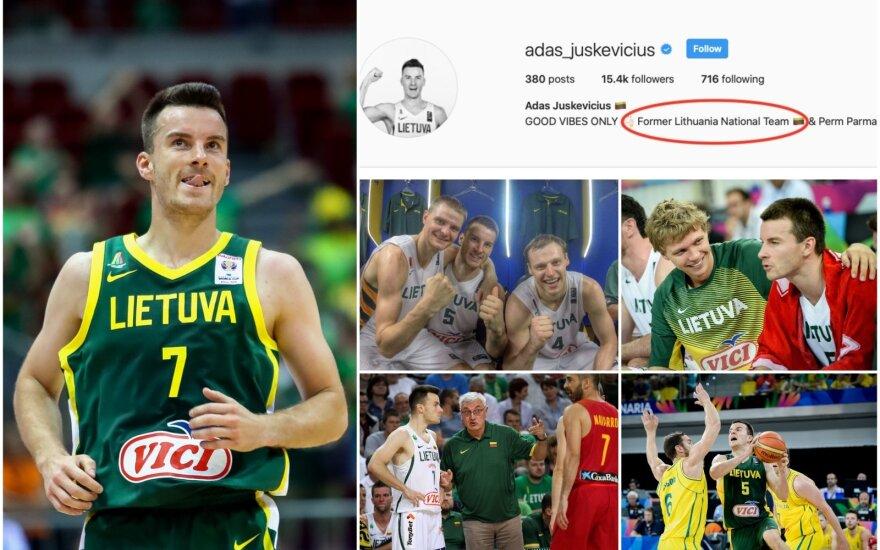 Ado Juškevičiaus karjeros Lietuvos rinktinėje akimirkos