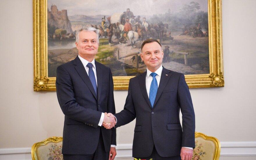 Lenkijos prezidentas Lietuvoje pagerbs sukilėlių vadus, susitiks su šalies vadovais