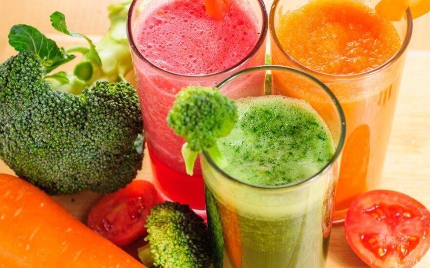 Daržovių sultys: kokias ligas gydo, kaip teisingai gerti