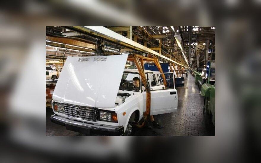 """AvtoVAZ gamykla. """"Autonews"""" nuotr."""