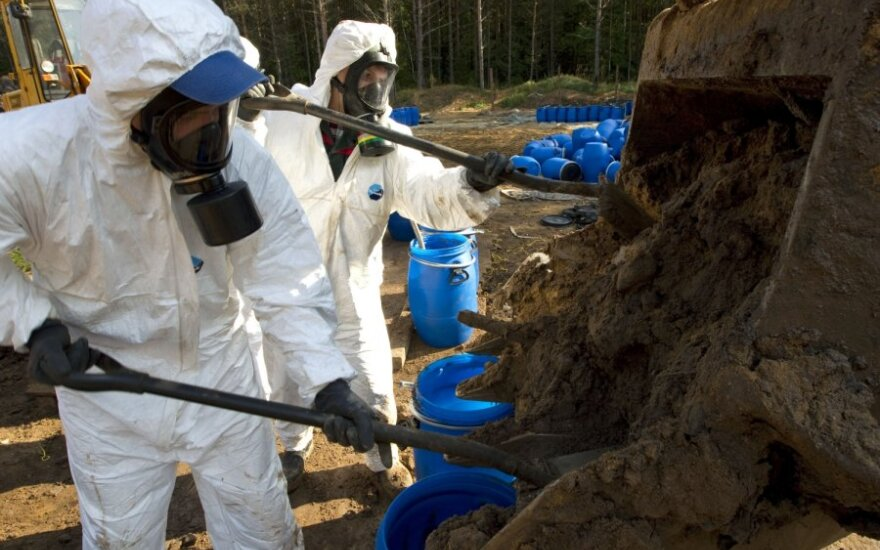 Baltarusijoje laidojami seni DDT pesticidai