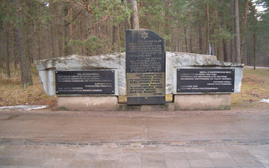 Holocaust victims commemorated in Vilnius