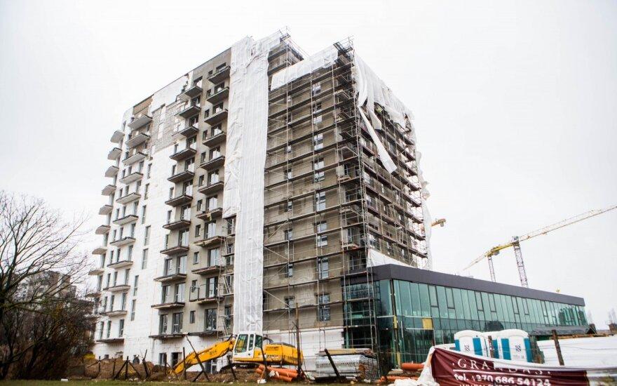Būstų Vilniuje suplanuota dukart daugiau nei realu parduoti