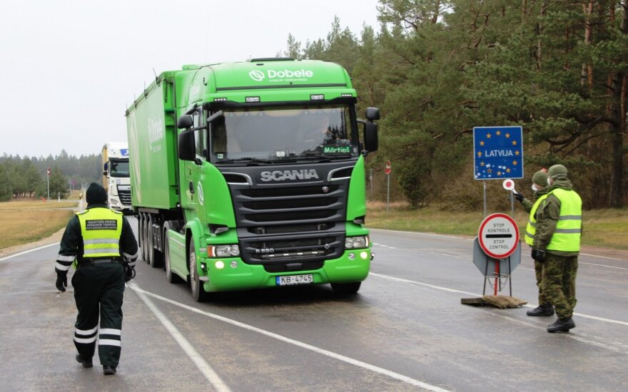 Checks of foreign truck drivers tightened