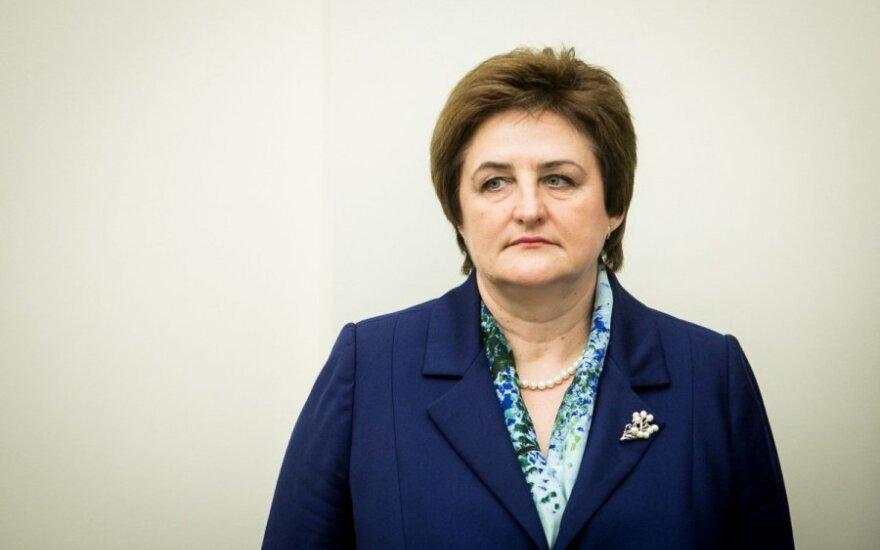 L. Graužinienė nuogąstauja dėl Rusijos sankcijų poveikio Lietuvai