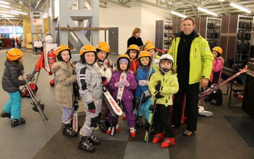 """""""Slidinėjimo mokykla"""" skleidžia kalnų slidinėjimo virusą"""