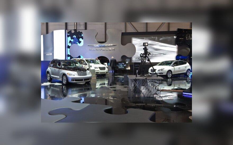 Chrysler stendas Ženevos automobilių parodoje