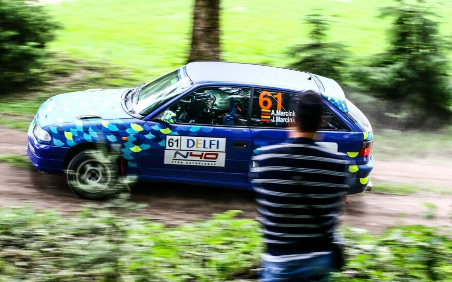 Renaldas Gabartas, N40 vyrų autoklubas