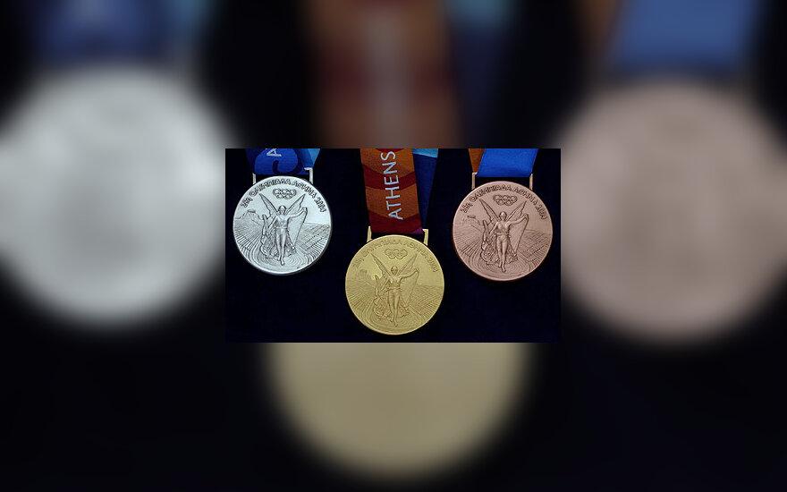 Atėnų olimpinių žaidynių medaliai