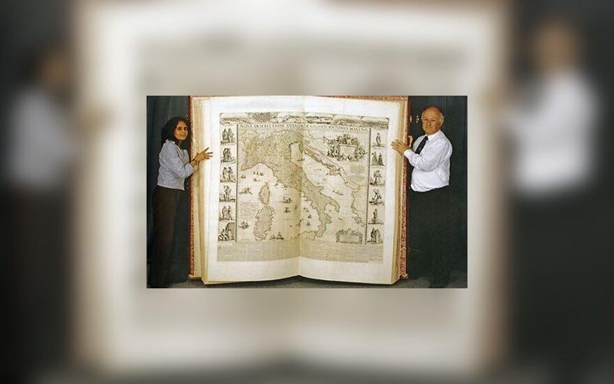 Didžiausiai pasaulyje knygai - 350 metų