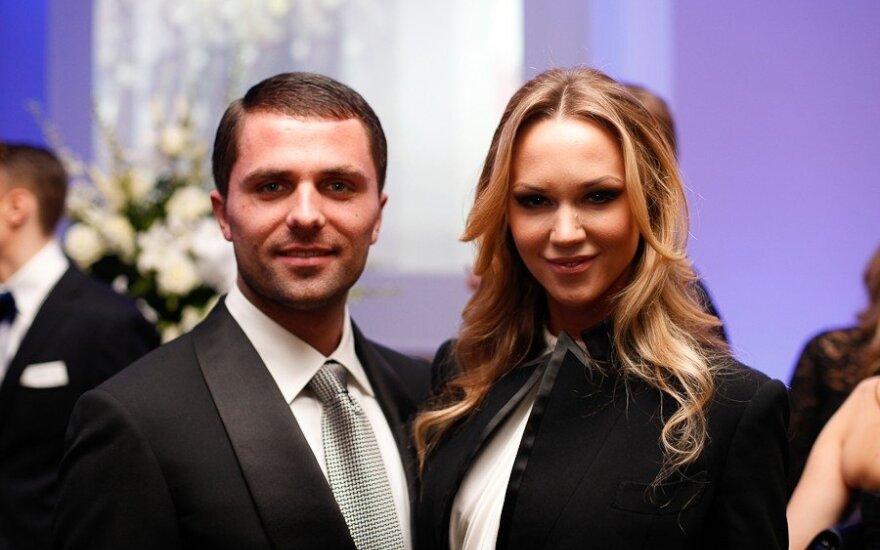 Vaida Klizaitė-Jasaitienė su Dariumi