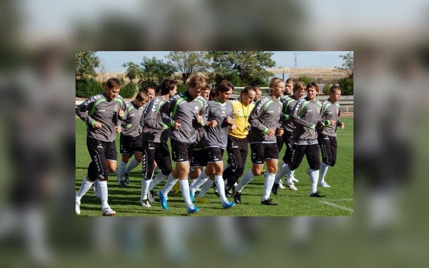 Lietuvos futbolo rinktinė FIFA reitinge 48-a