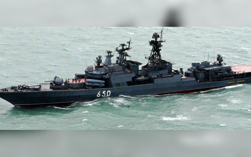 JAV reiškia susirūpinimą dėl Prancūzijos karo laivų pardavimo Rusijai