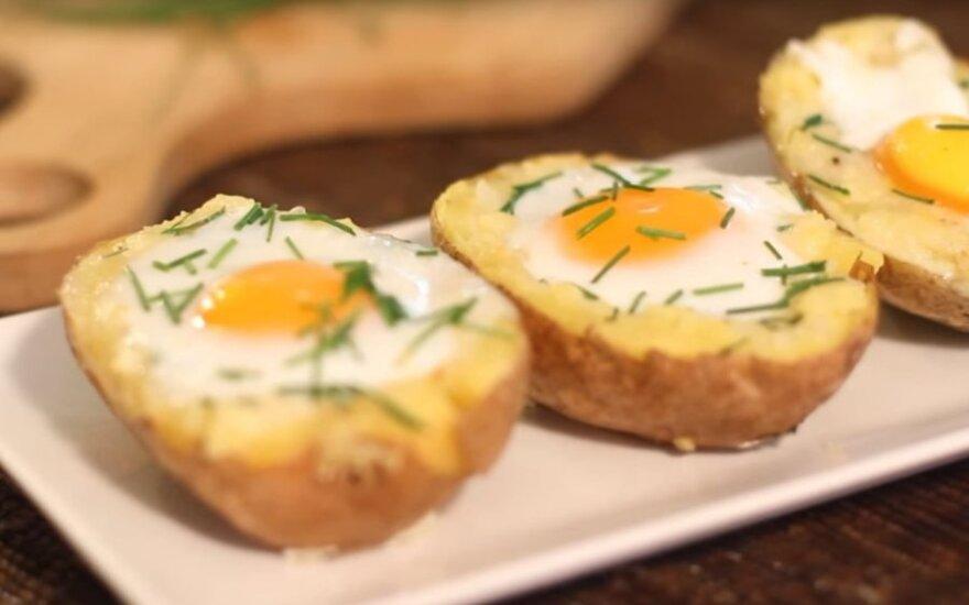 Kiaušinis bulvėje