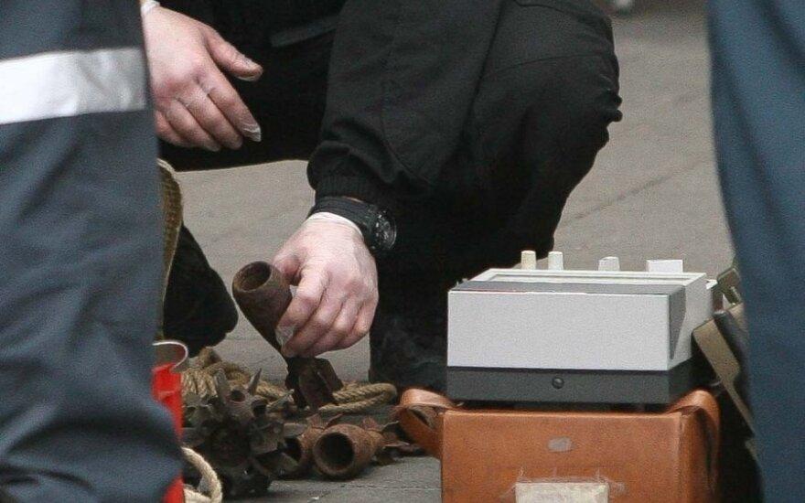 Per kratą šiauliečio bute rasta sprogmenų