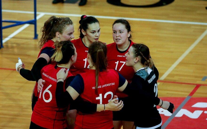 Vilniaus universiteto komanda / FOTO: Matas Baranauskas