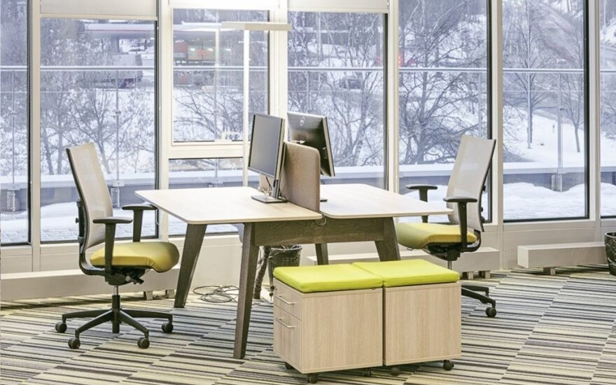 Kad dirbti būtų patogu: šiuolaikinių biurų tendencijos