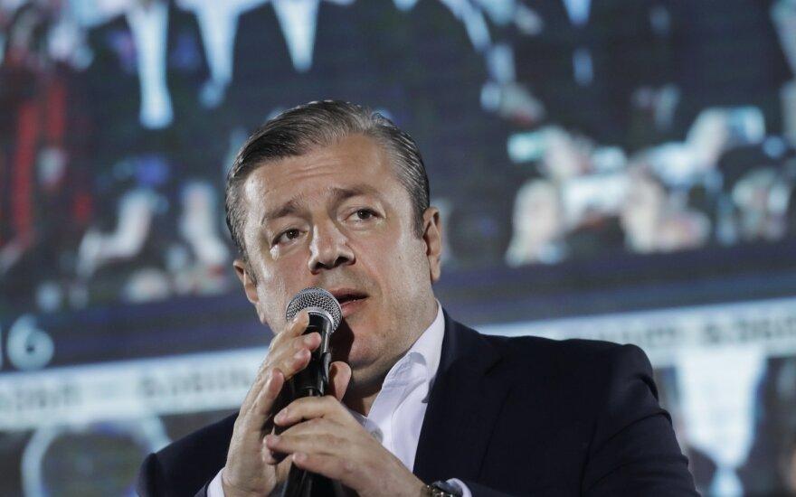 Žiniasklaida: Gruzijos premjeras ketina atsistatydinti