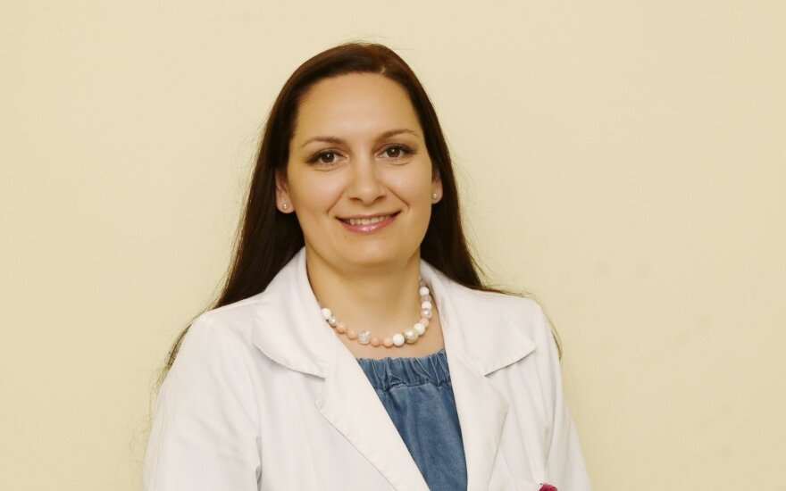 Gydytoja A. Rodzevičienė