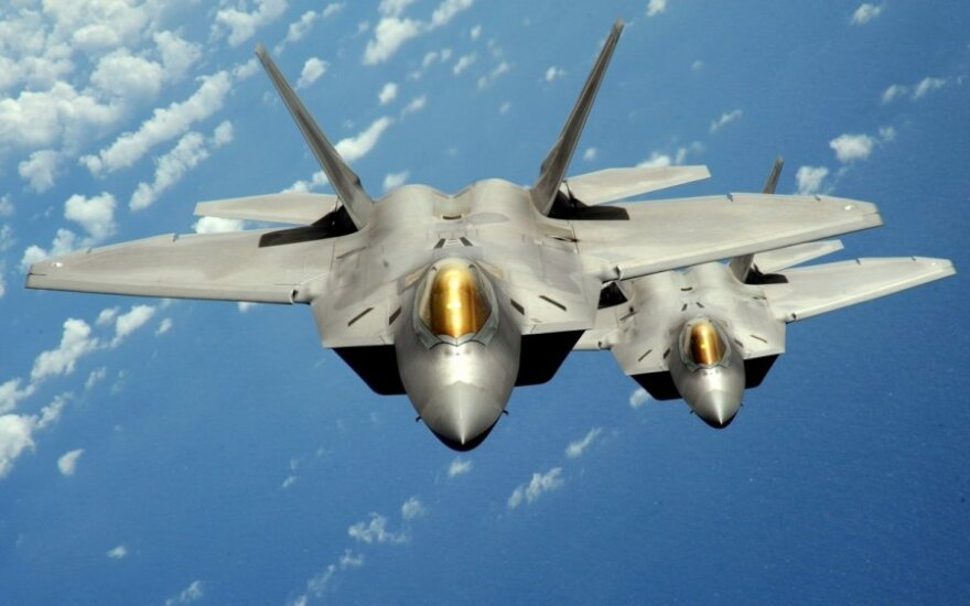 """F-22 Raptor"" Fighters"