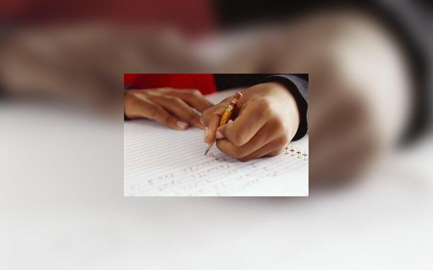 Dėl prasto raštingumo – signalas apie rimtesnes problemas