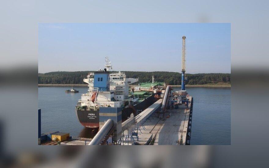 Iš Klaipėdos uosto išvyksta rekordiniai kiekiai lietuviško derliaus