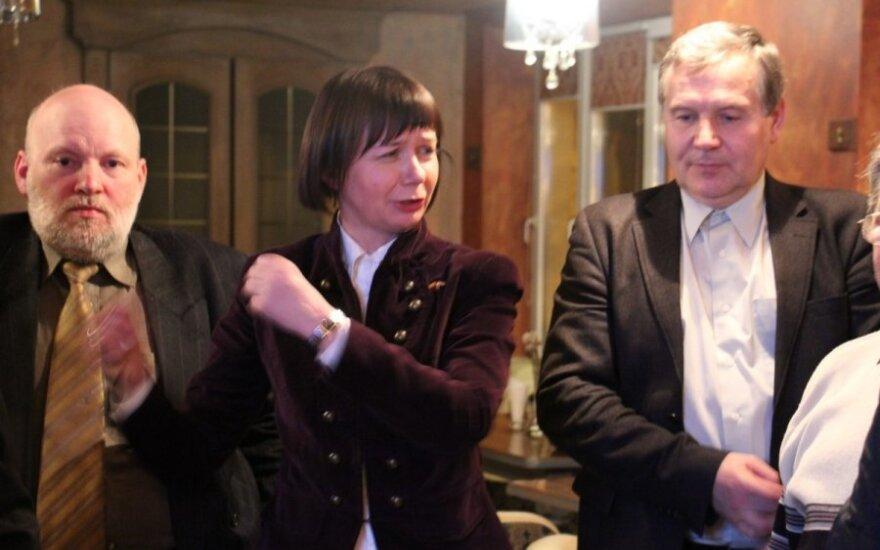 Rinkimų naktis Klaipėdoje