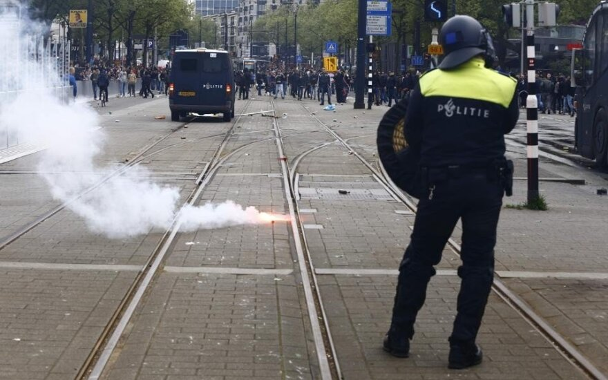"""""""Feyenoord"""" fanai sukėlė riaušes"""