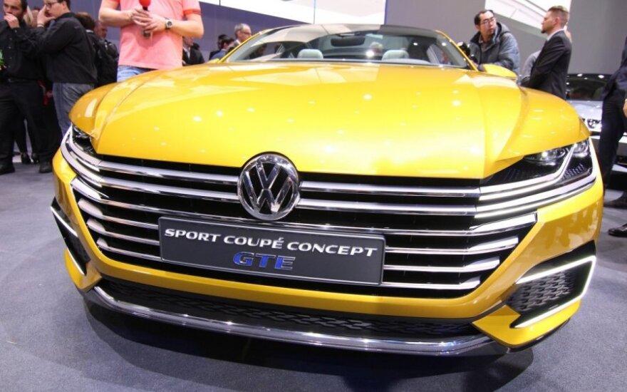 Volkswagen koncerno naujienų vakaras prieš Ženevos automobilių parodą