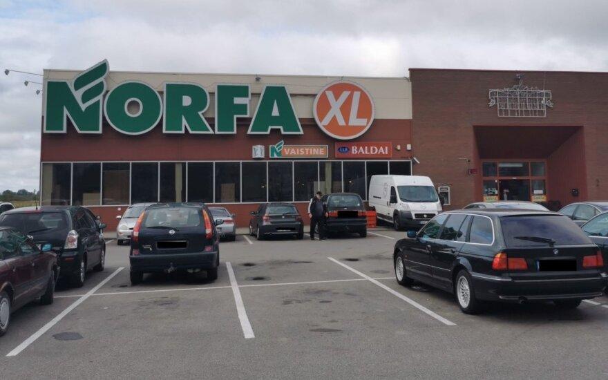 """Kėdainiuose rekonstrukcijai uždaroma """"Norfa"""" parduotuvė"""