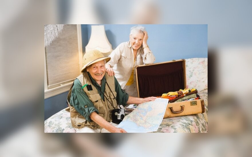 Senjorai ruošiasi į kelionę
