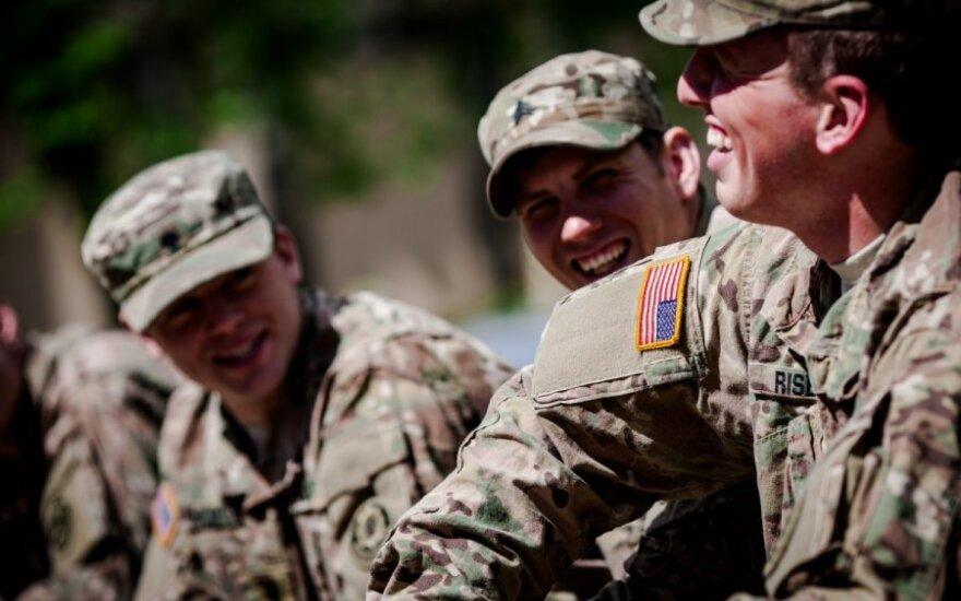 Į Lietuvą atvyksta 80 JAV karių
