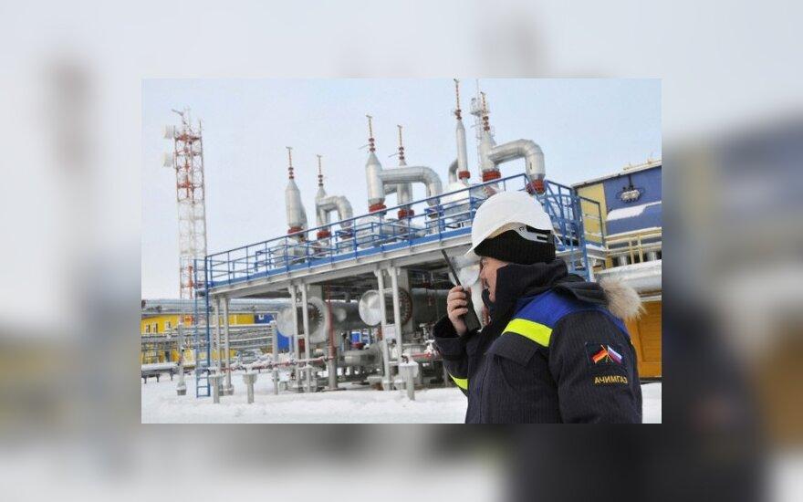 Rusija ir Ukraina tariasi dėl dujų, palikdamos ES nuošalyje
