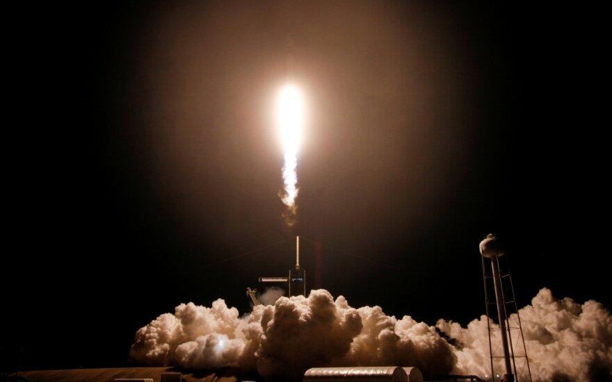Misijos SpaceX kelionė į TKS / Scanpix/Reuters/AFP nuotr.