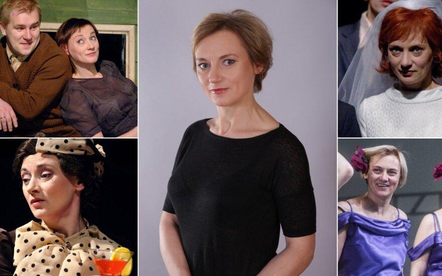 Aktorei Vitalijai Mockevičiūtei – 50-imt