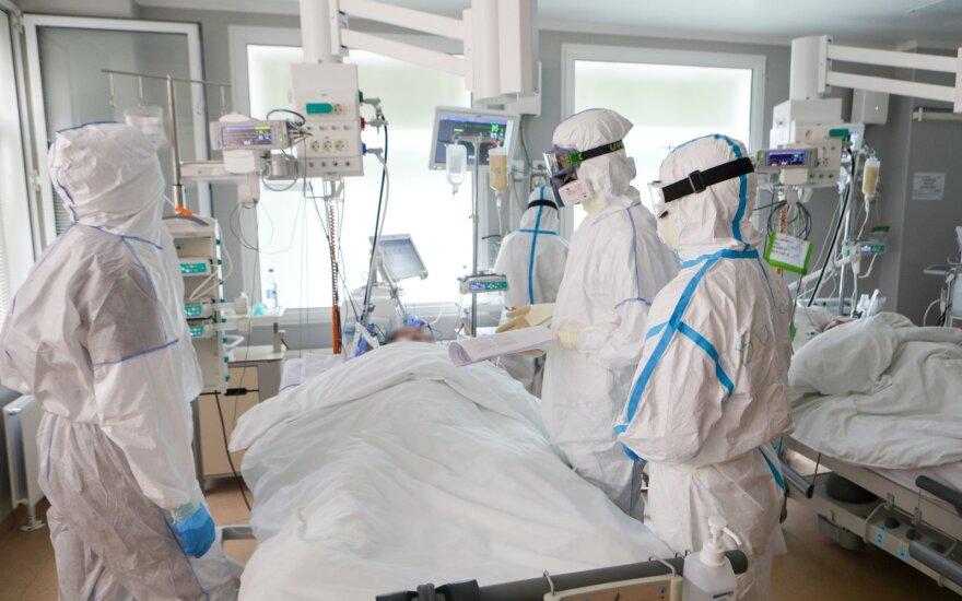 Rusijoje užregistruota 5,24 tūkst. naujų COVID-19 atvejų, 119 žmonių mirė