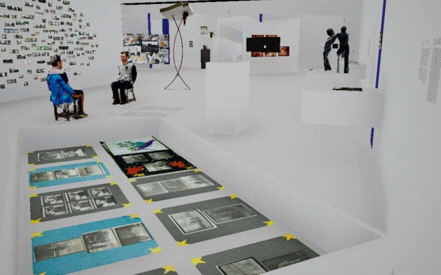 """NDG virtualus 3D pasivaikščiojimas po parodą """"Saldus ateities prakaitas"""""""
