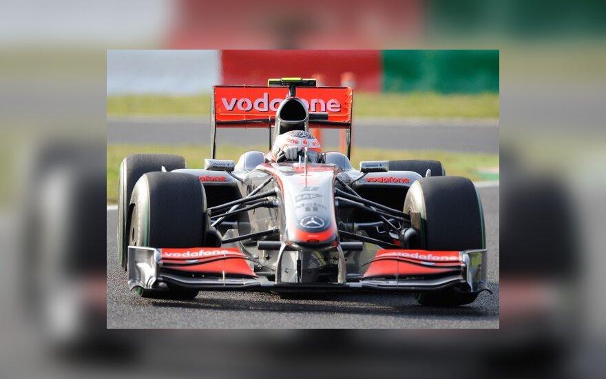 """Heikki Kovalainenas ("""" McLaren"""")"""