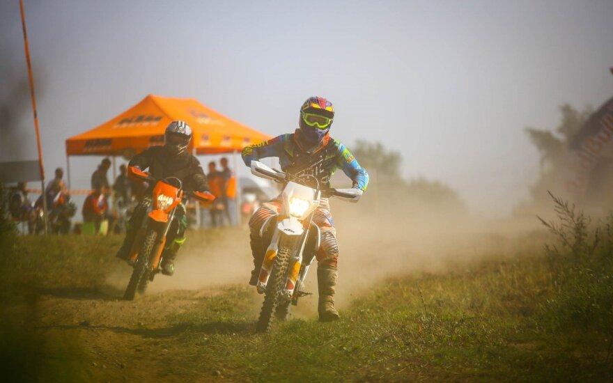 KTM pristatė naujausius motociklus