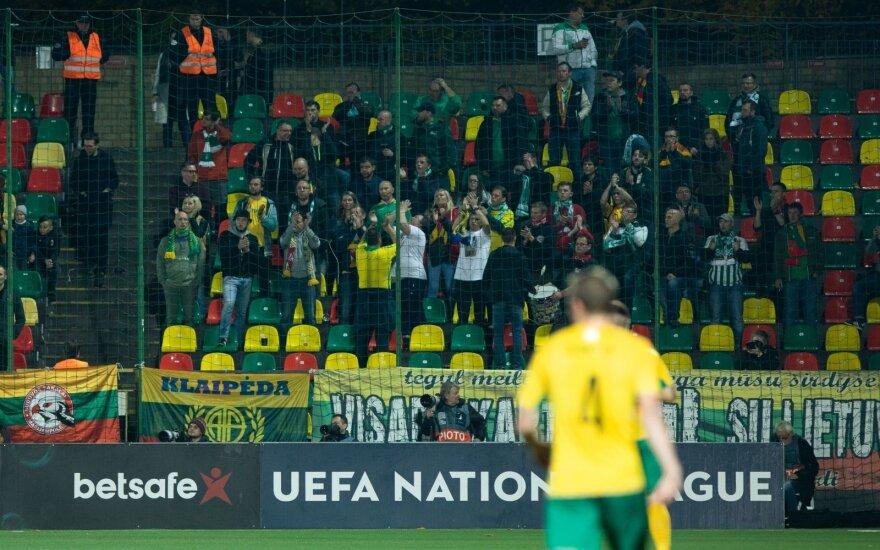 LFF sirgalius ragina grąžinti bilietus į rungtynes Rumunijoje: į stadioną patekti nepavyks