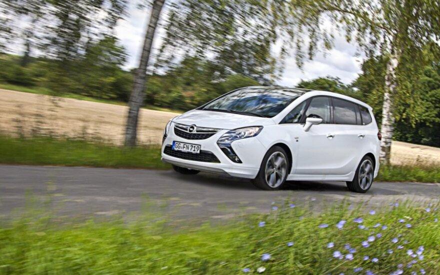 Opel Zafira Tourer LPG