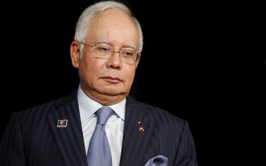 Malaizijoje suimtas buvęs premjeras Najibas Razakas