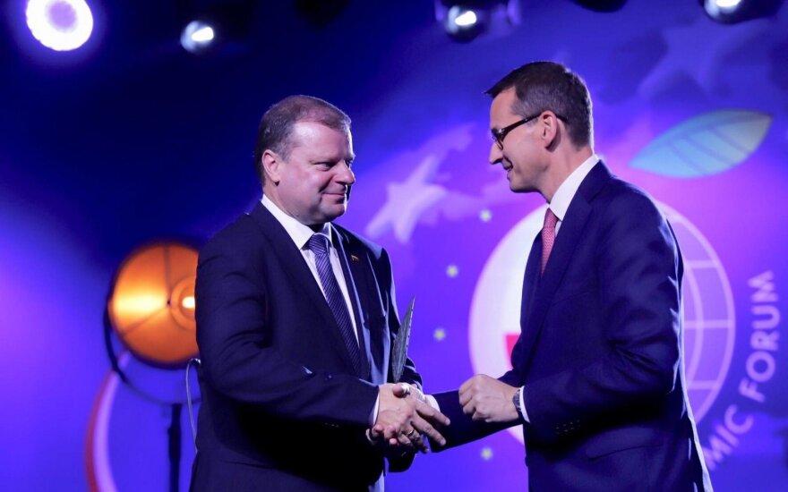 Krynicos forume Skverneliui atiteko garbingas apdovanojimas