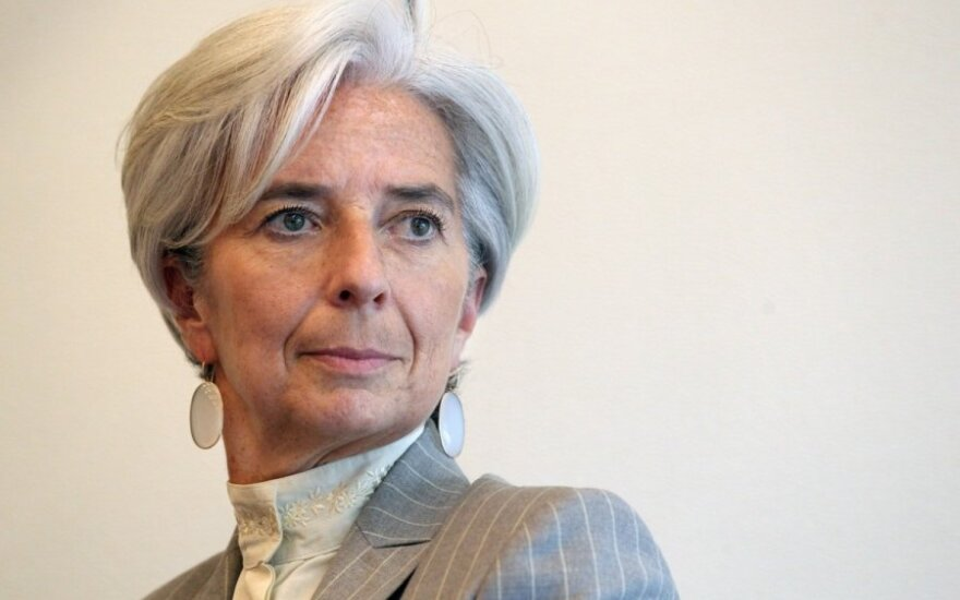 Į Lietuvą atvyksta TVF vadovė Ch. Lagarde