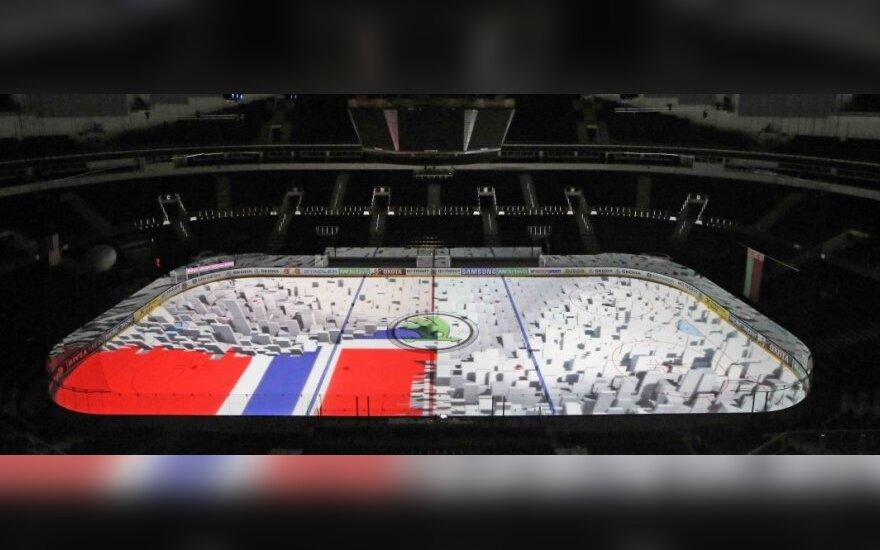 Ledo ritulio aikštelę lietuviai pavertė milžinišku 4K ekranu